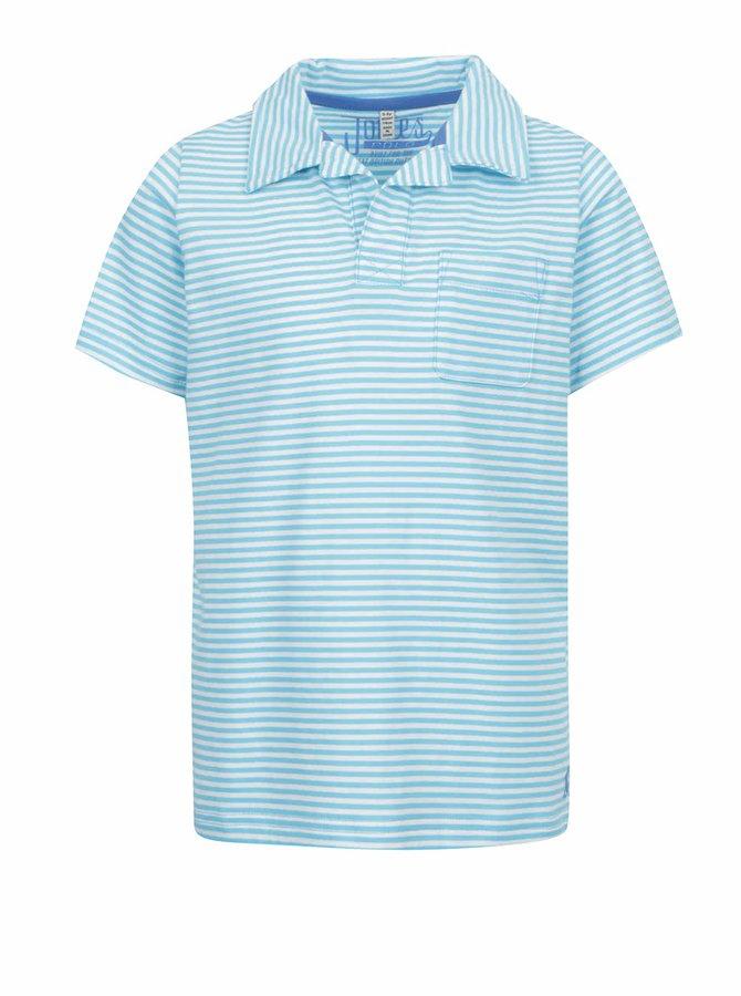 Modré klučičí pruhované polo triko Tom Joule