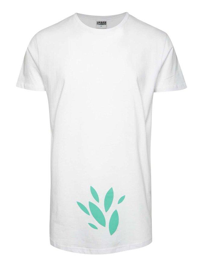 Bílé unisex triko se zeleným potiskem Primeros TeaTree