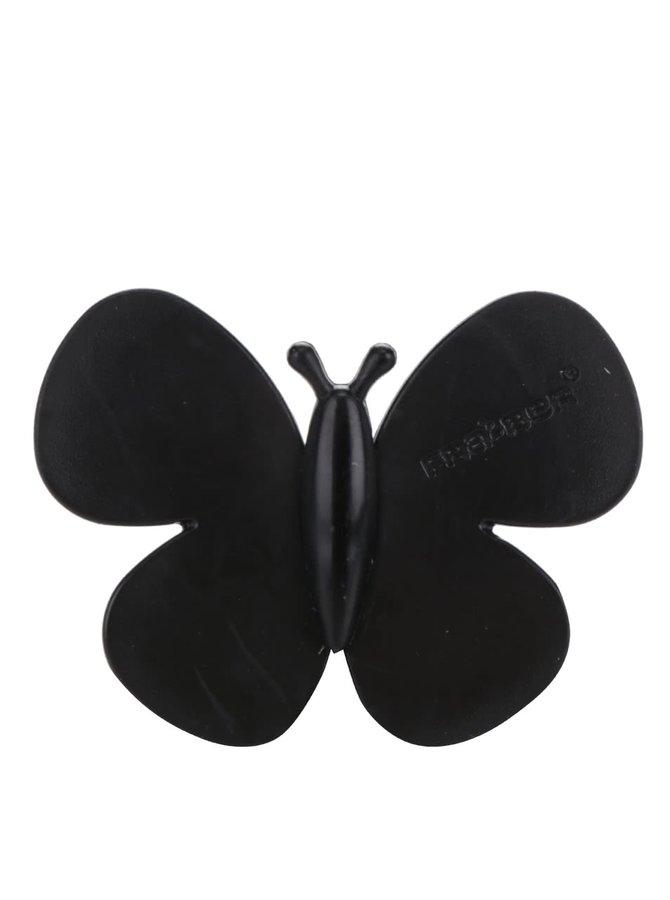 Černý vonný motýlek do auta Motýlek Marta Black Forest
