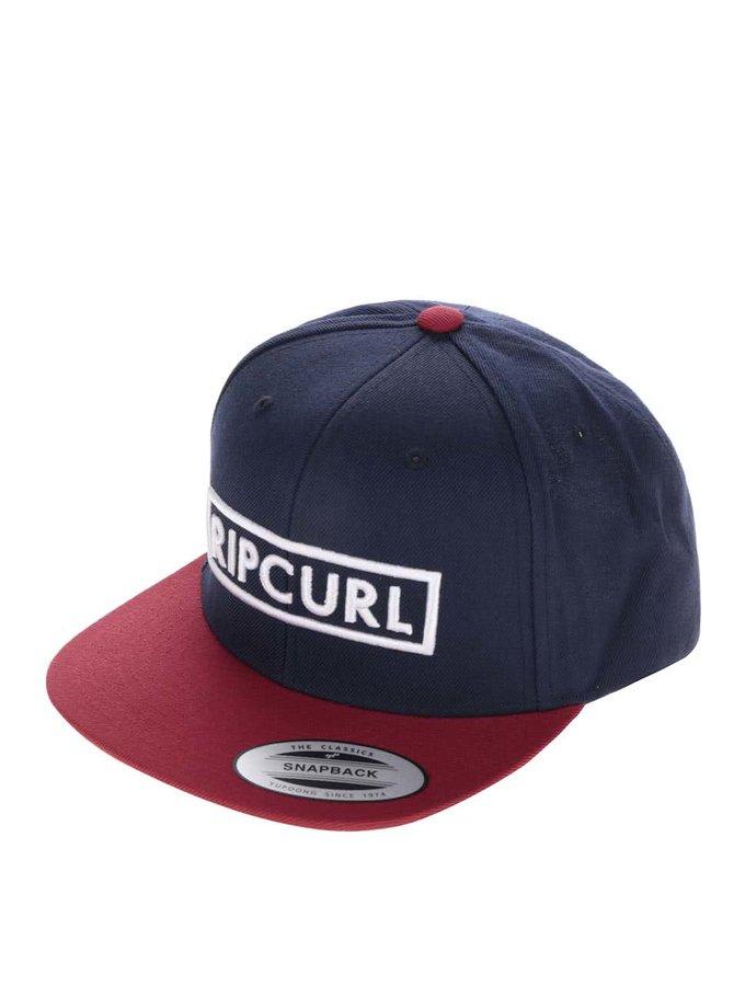 Červeno-modrá pánská kšiltovka Rip Curl Undertow