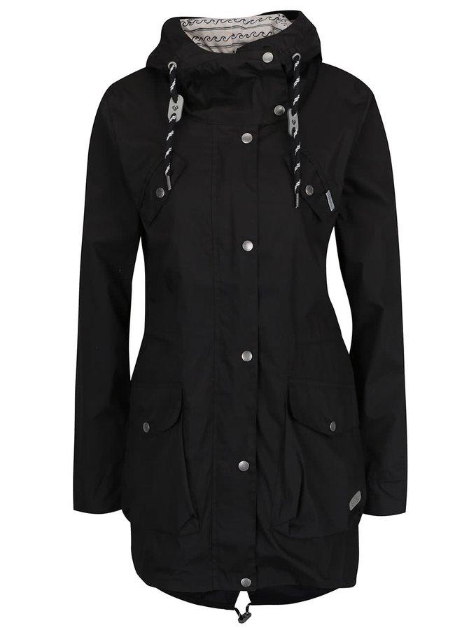 Jachetă parka neagră Ragwear Clancy
