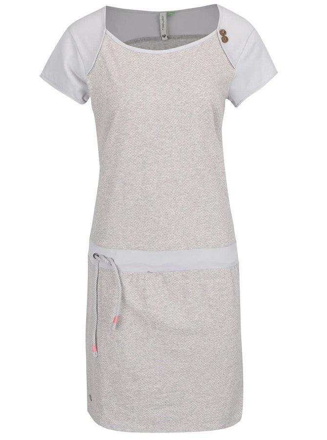 Světle šedé puntíkované šaty Ragwear Mike
