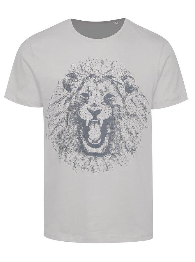 Šedé pánské triko ZOOT Originál Lev