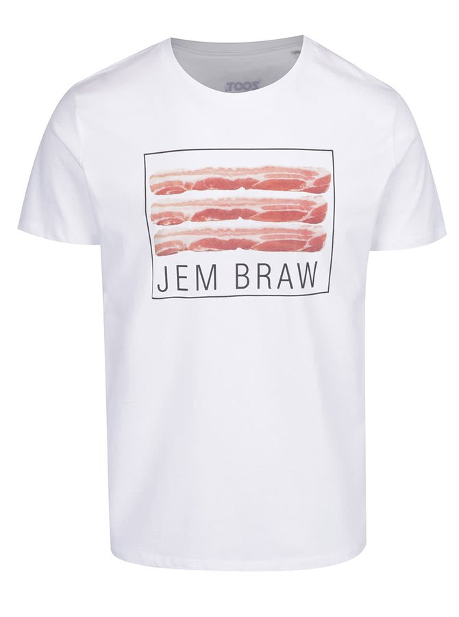Bílé pánské triko ZOOT Originál Braw