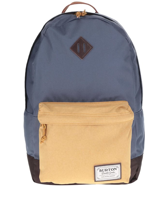 Žluto-modrý unisex batoh Burton Kettle 20 l