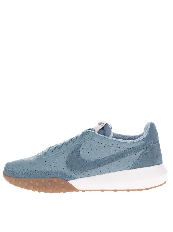 Modré dámské kožené tenisky Nike Roshe