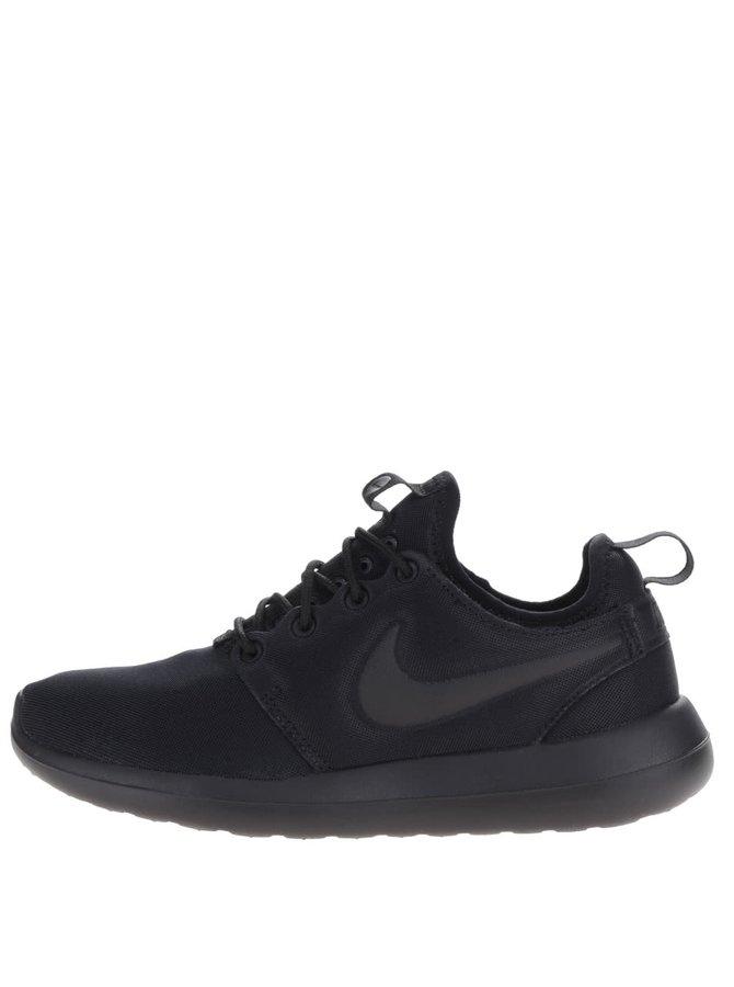 Černé dámské tenisky Nike Roshe Two