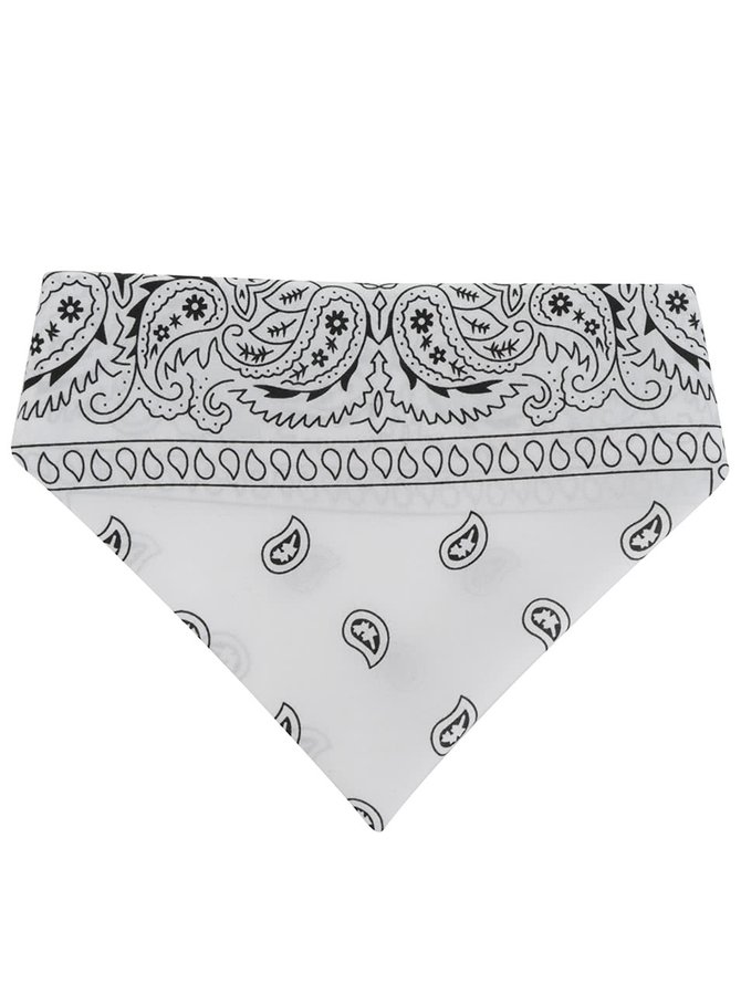 Černo-bílý šátek Haily's Nickie