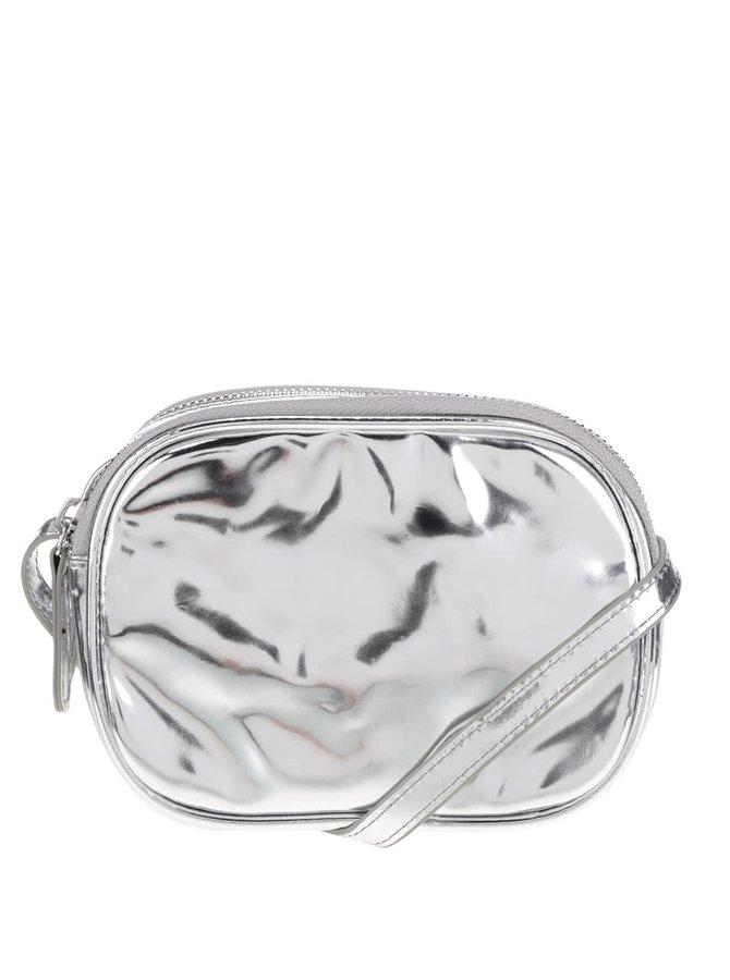 Geantă plic argintie Pieces Larissa