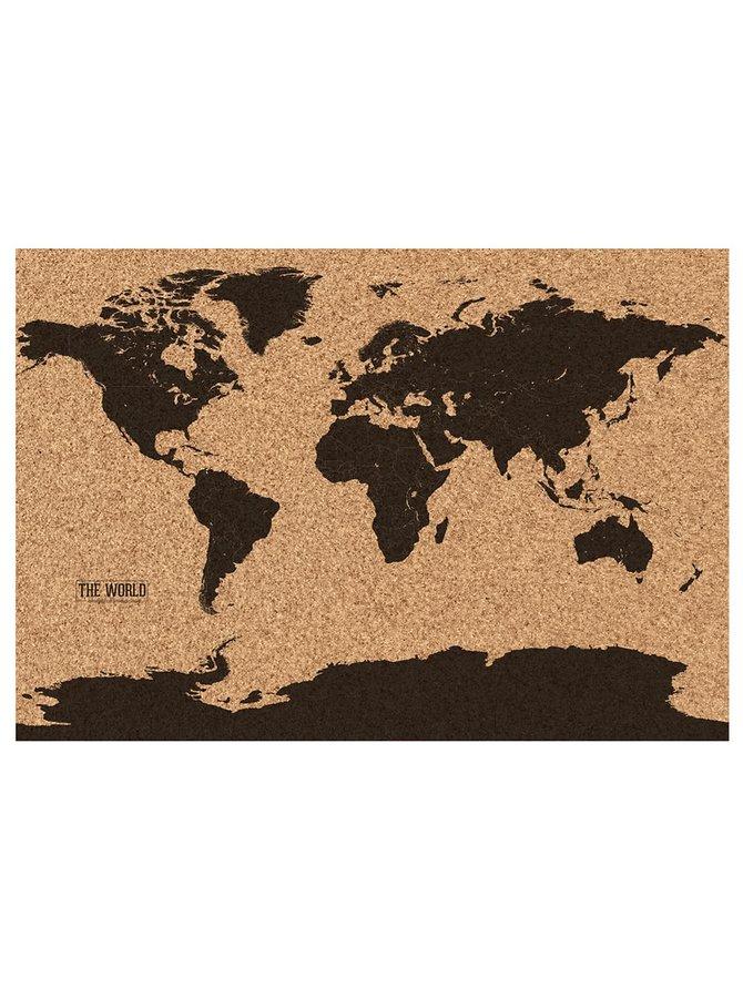 Korková mapa sveta Gift Republic