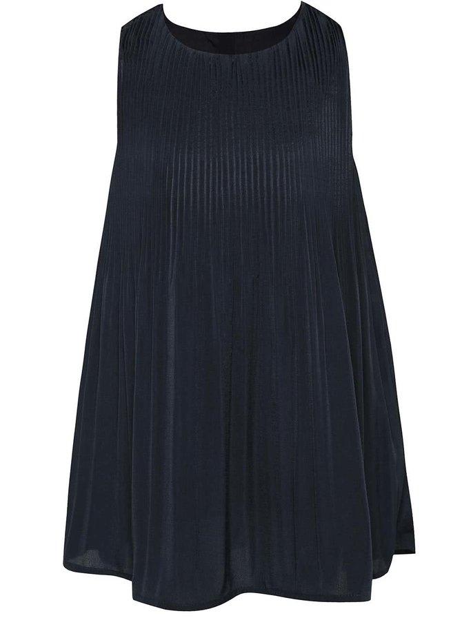 Tmavě modré holčičí plisované šaty name it Haby