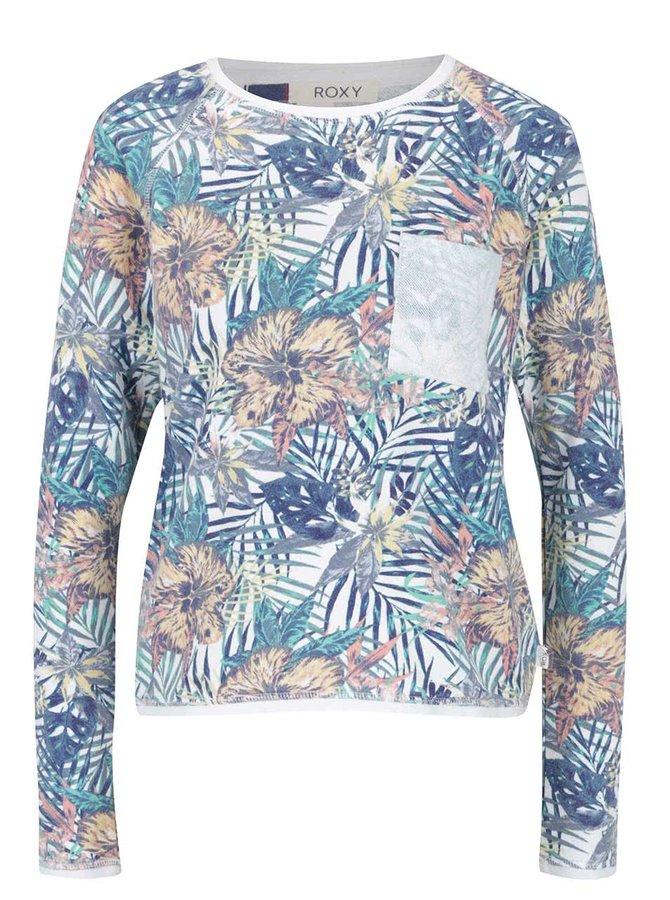 Bluză crem Roxy White Water cu model