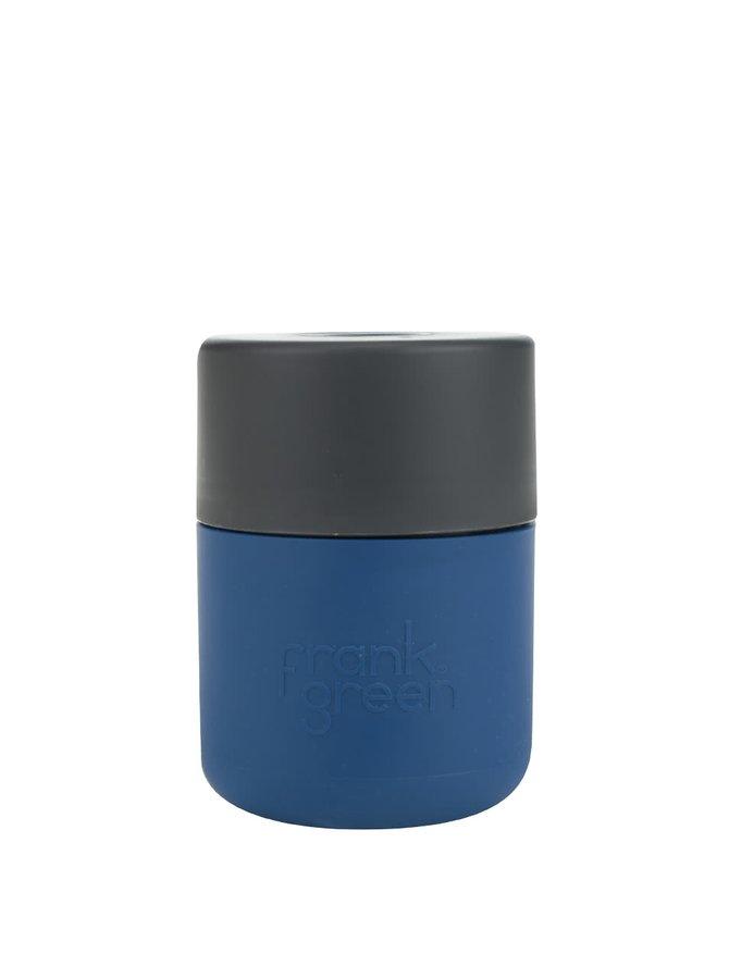 Tmavě modrý SmartCup s tmavě šedým víčkem Frank Green 230 ml