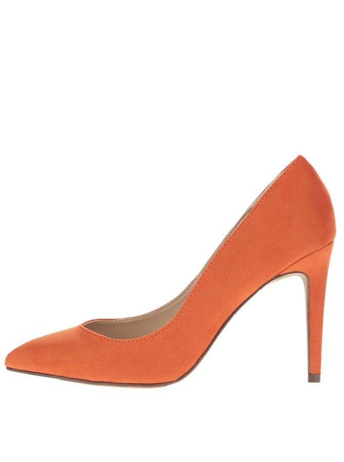 Pantofi stiletto portocalii Dorothy Perkins