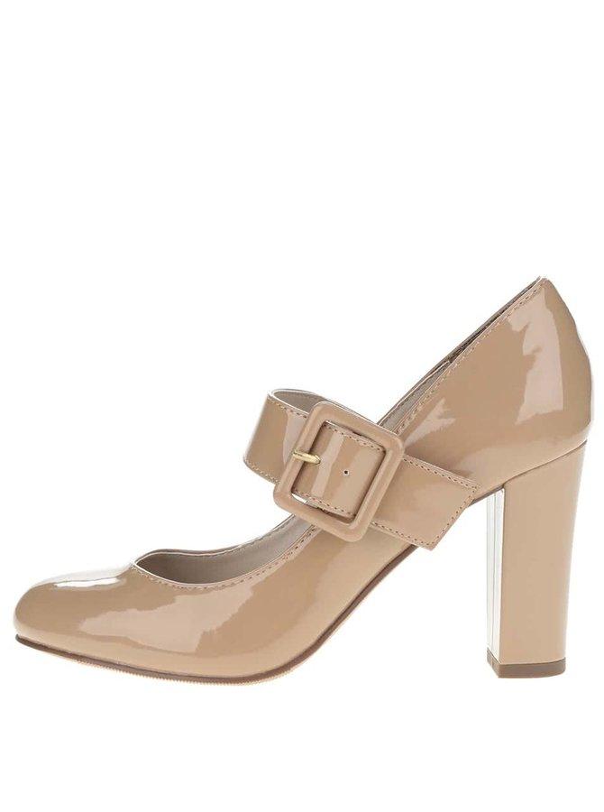 Pantofi bej Dorothy Perkins lăcuiți