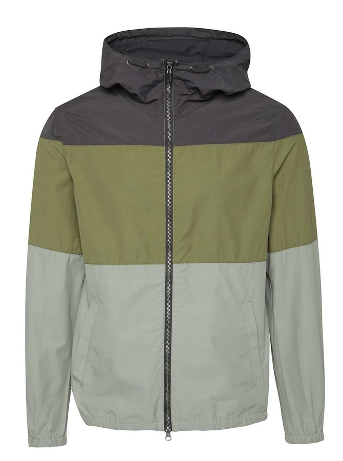 Jachetă anti-vânt în nuanțe de verde ONLY & SONS Blendi