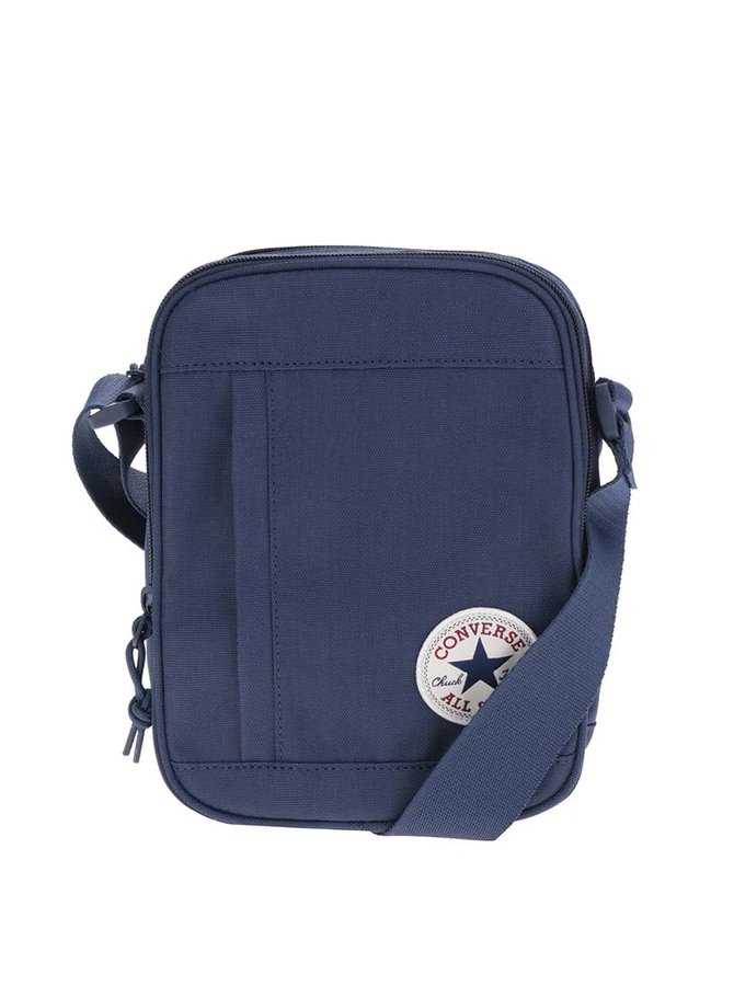 Tmavě modrá malá unisex crossbody taška Converse Poly