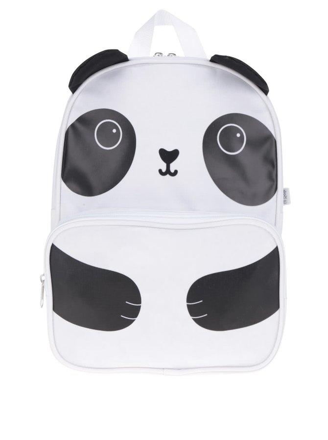 Černo-bílý batůžek s motivem pandy Sass & Belle