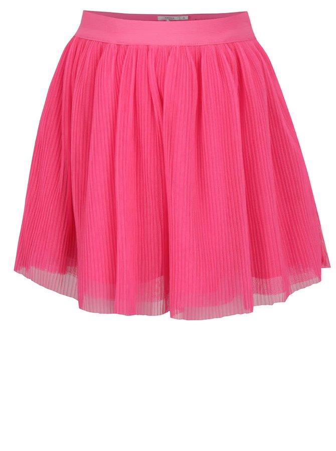 Růžová holčičí tylová plisovaná sukně name it Hitta
