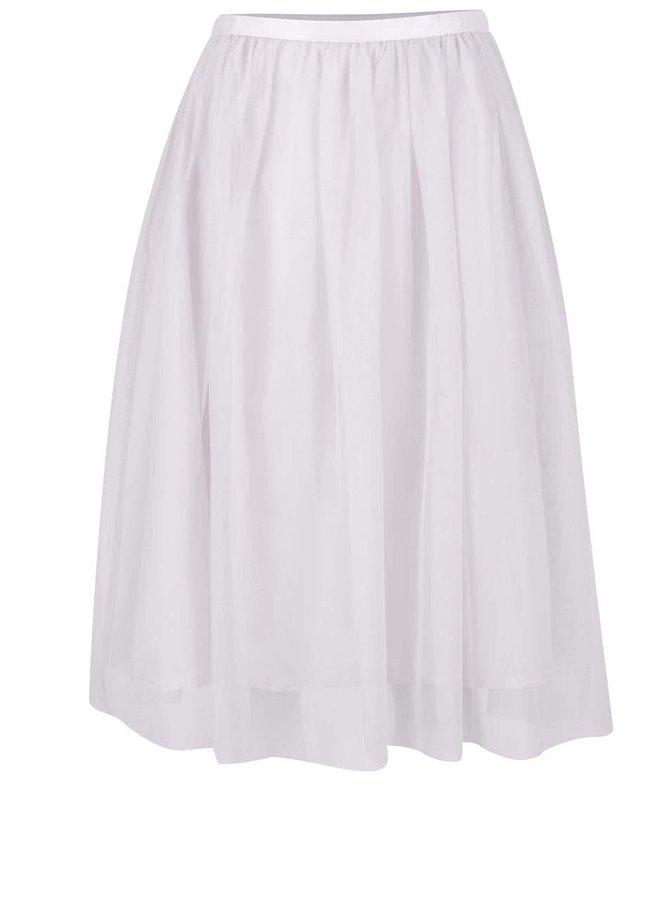 Světle šedá tylová sukně ZOOT