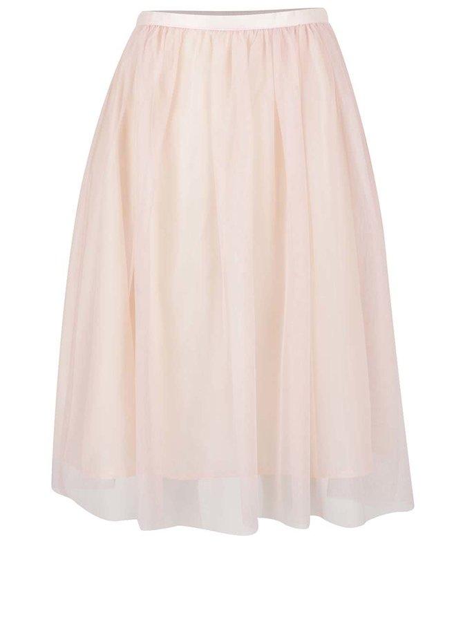 Světle růžová tylová sukně ZOOT