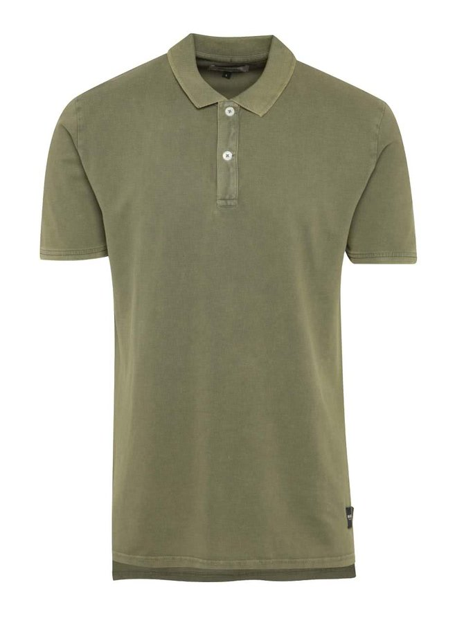 Khaki polo triko ONLY & SONS Marcos