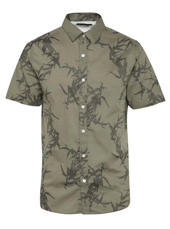 Khaki košile s potiskem ONLY & SONS Casper
