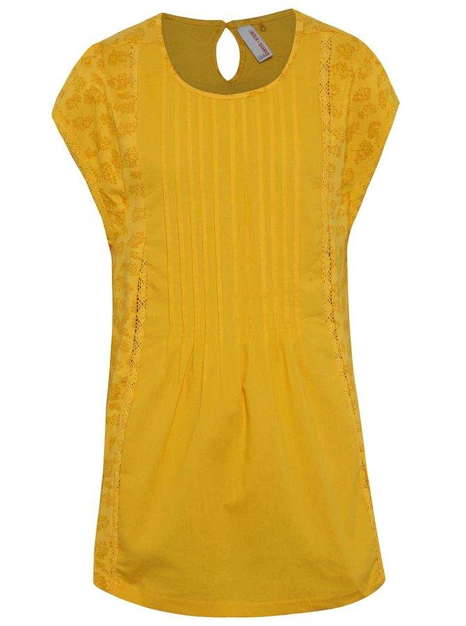 Oranžové holčičí tričko s krátkým rukávem 5.10.15.