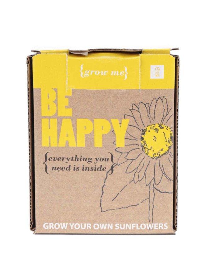Set creștere floarea soarelui Gift Republic Grow me