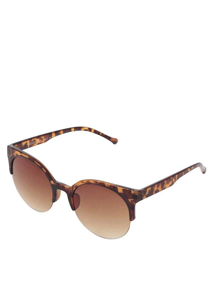Sluneční brýle s hnědými obroučkami Haily´s Bella