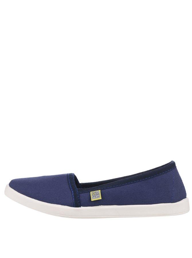 Tmavě modré dámské loafers Oldcom Canvas
