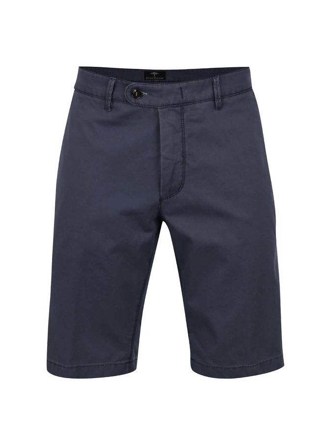 Pantaloni chino scurți albaștri Fynch-Hatton