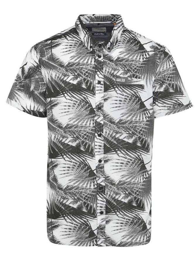 Černá vzorovaná košile Blend
