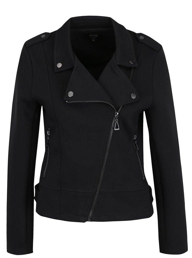 Jachetă neagră ONLY New cu revere
