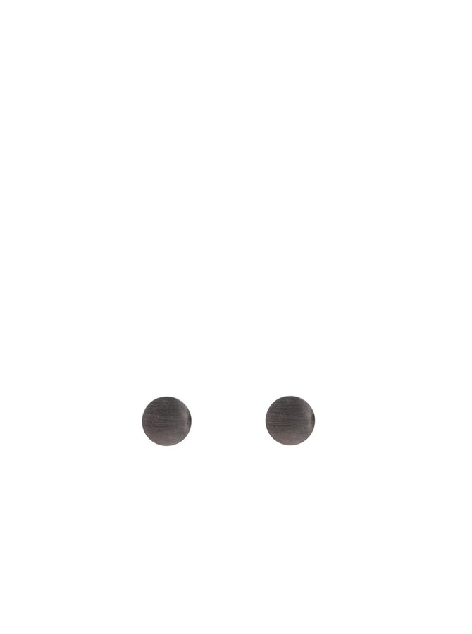 Tmavě šedé náušnice Pieces Miebe