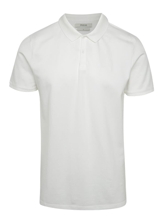 Tricou polo alb Jack & Jones Belfast