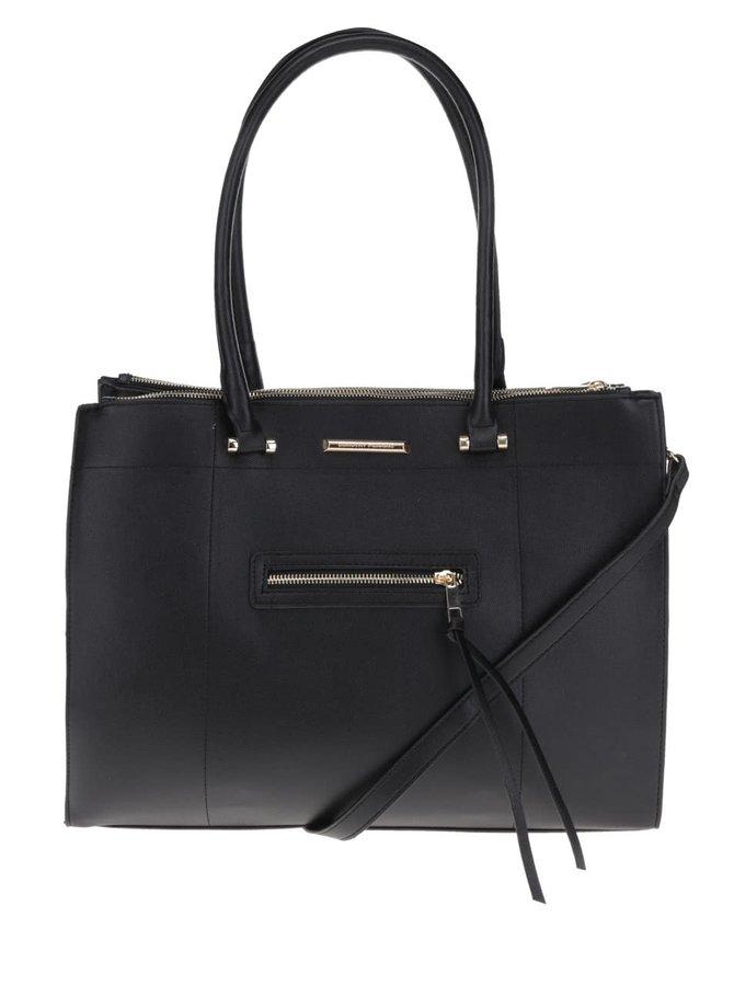 Černá kabelka do ruky Dorothy Perkins