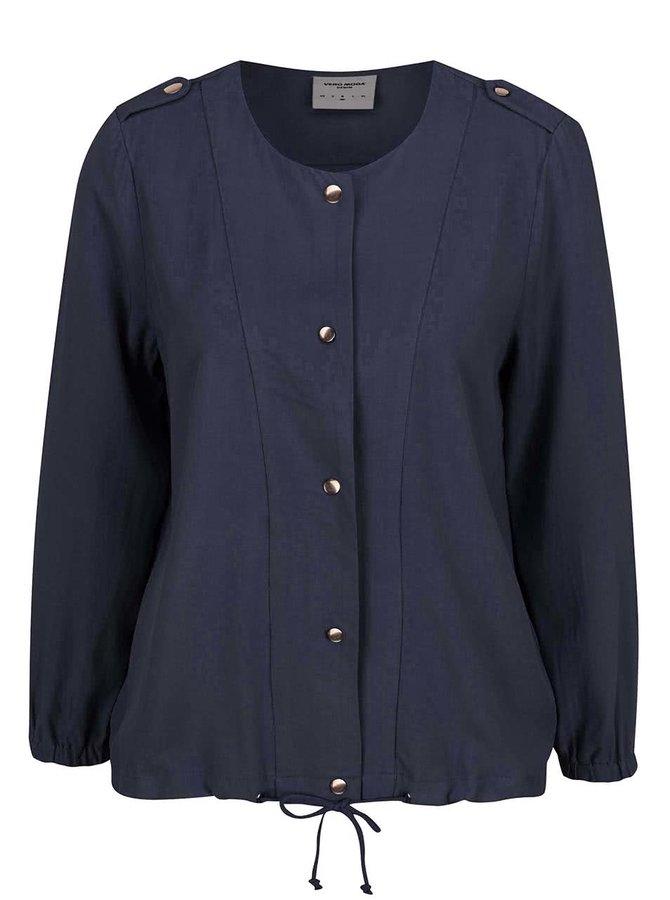 Jachetă subțire bleumarin VERO MODA Tailor