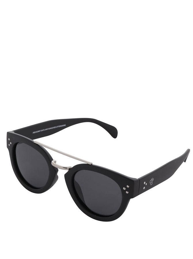 Ochelari de soare negri CHPO Stockholm unisex