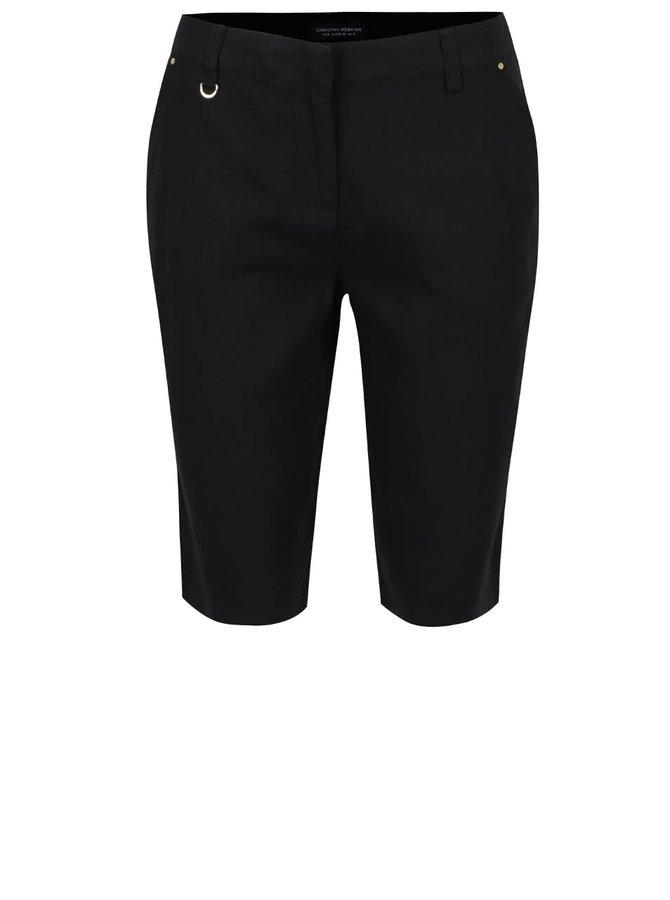 Pantaloni negri trei sferturi Dorothy Perkins