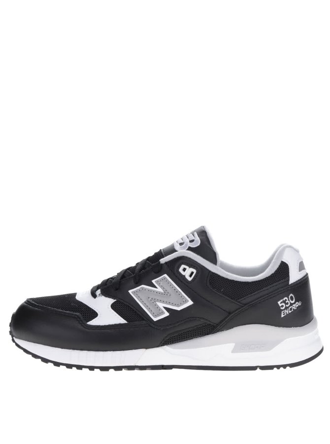 Pantofi sport negru&alb New Balance 530