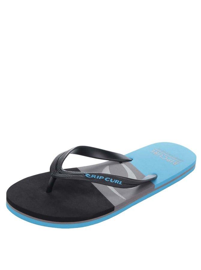 Modro-černé pánské žabky Rip Curl Slide Out