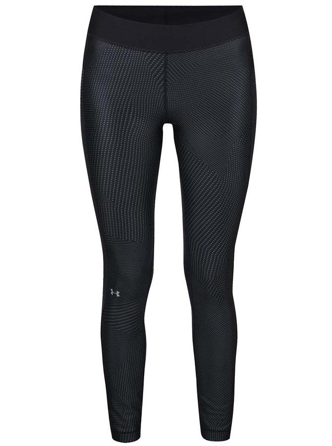 Černé dámské funkční legíny Under Armour Printed Legging