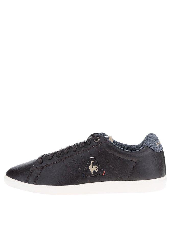 Pantofi sport maro închis Le Coq Sportif Courtcraft