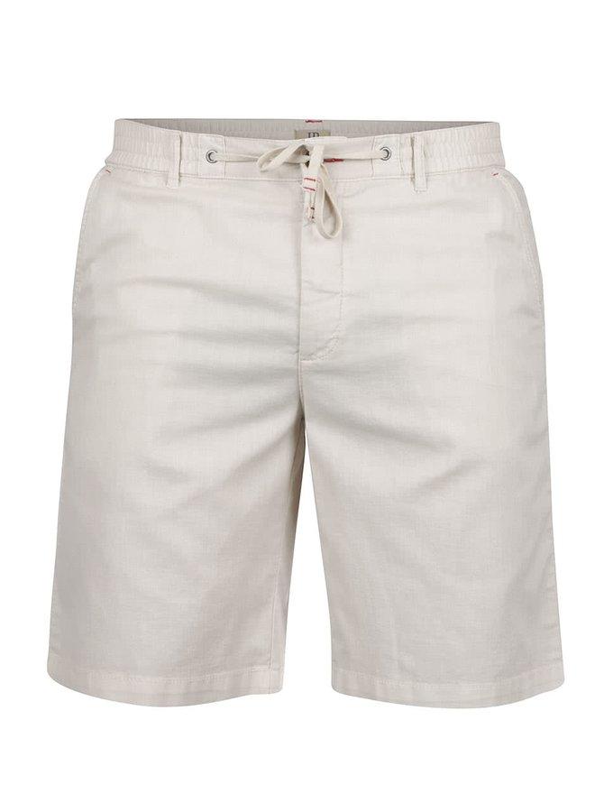 Pantaloni scurți bej JP 1880 din bumbac