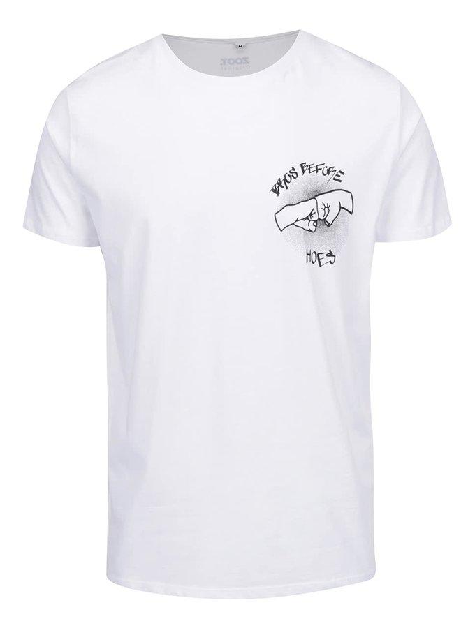 Bílé pánské triko ZOOT Originál Bros before hoes