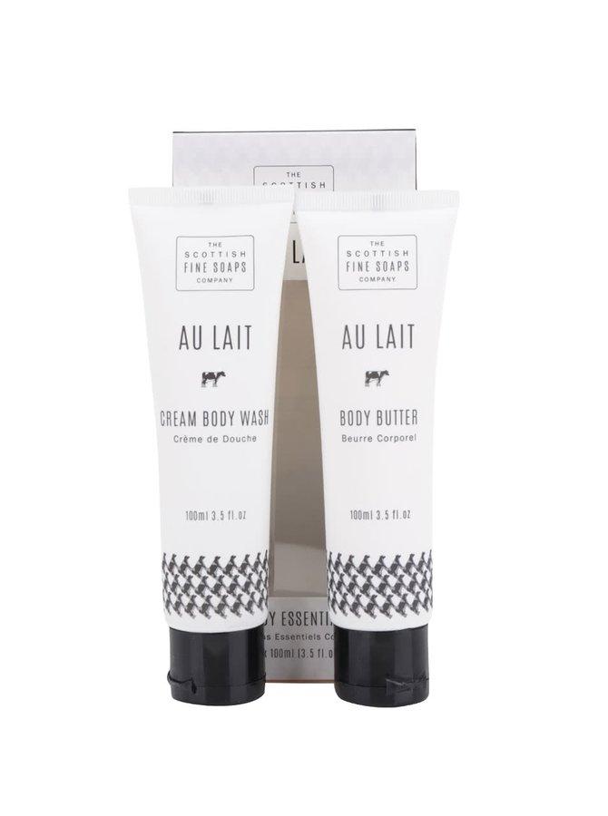 Dvoudílná dárková kosmetická sada Au Lait The Scottish Fine Soaps