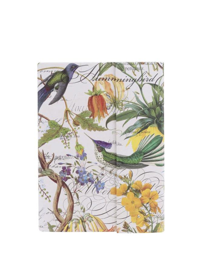 Velký set poznámkových a lepících papírků s motivem květin Michel Design Works