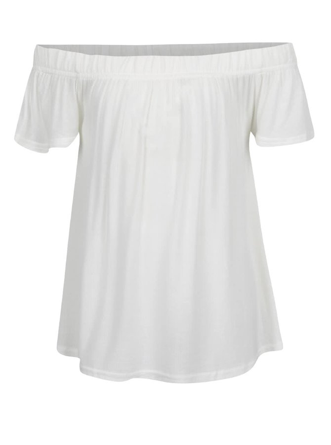 Tricou crem LIMITED by name it Sindy cu decolteu pe umeri, pentru fete