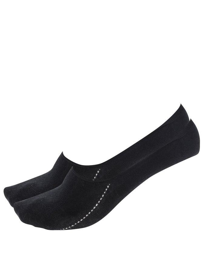 Sada dvou párů pánských sneaker ponožek v černé barvě Tommy Hilfiger